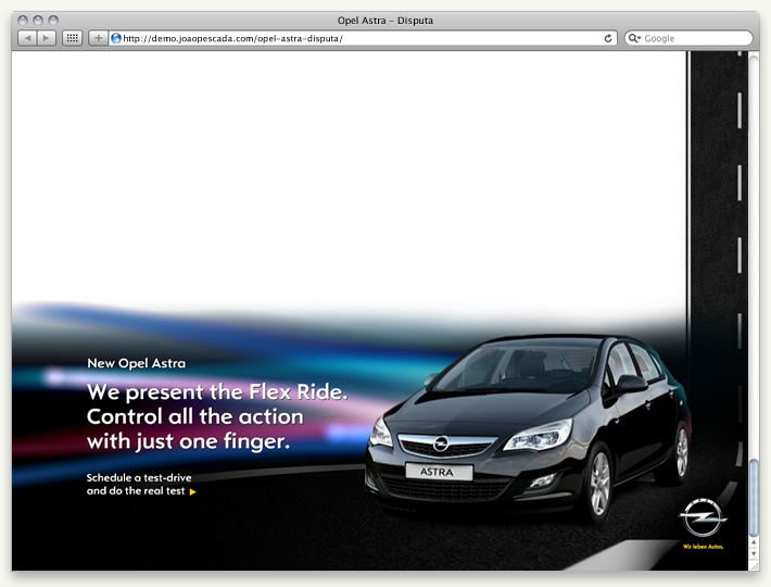 Opel Astra 2010 adverts